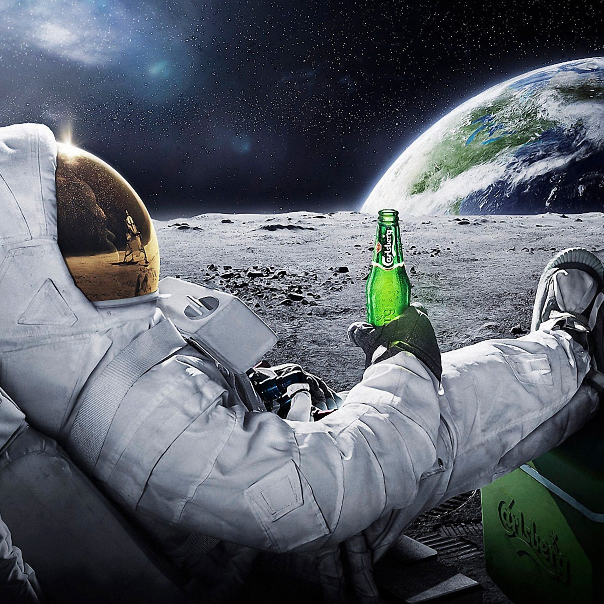 That beer would go flat VERY QUICKLY