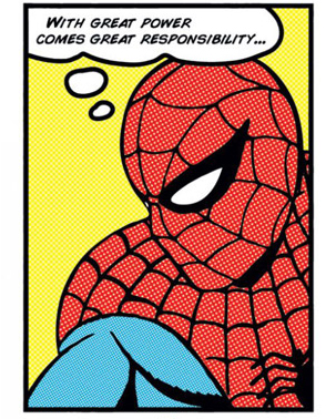 I wish we could see thought bubbles in real life...