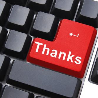 Finally, a computer with some gratitude.