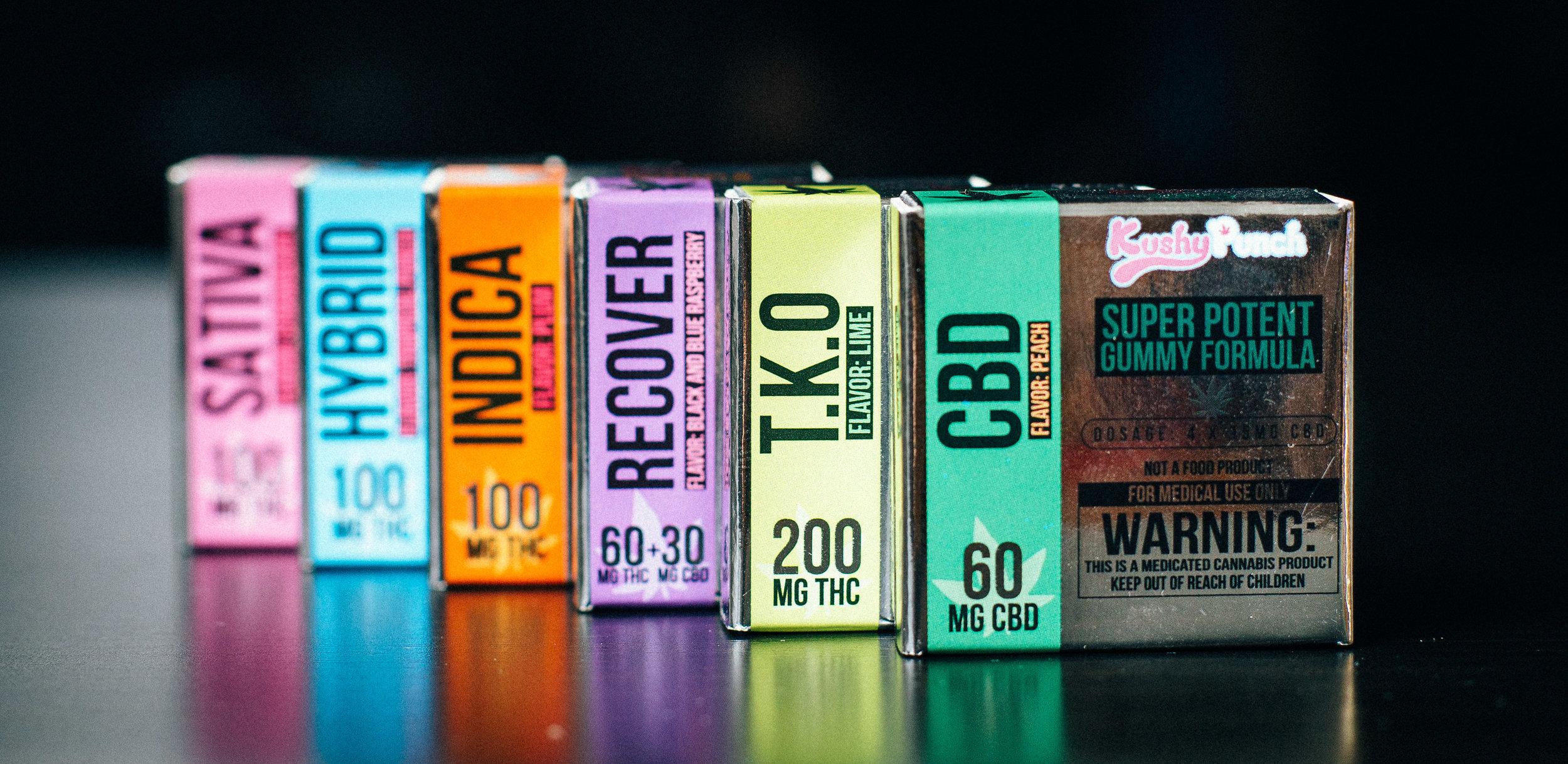 Kushy Punch Packaging - Photograph by Kushy Punch