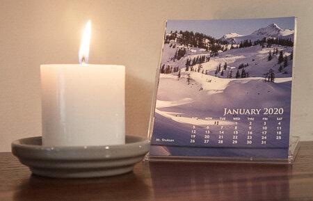 2020 desk calendars now available! -