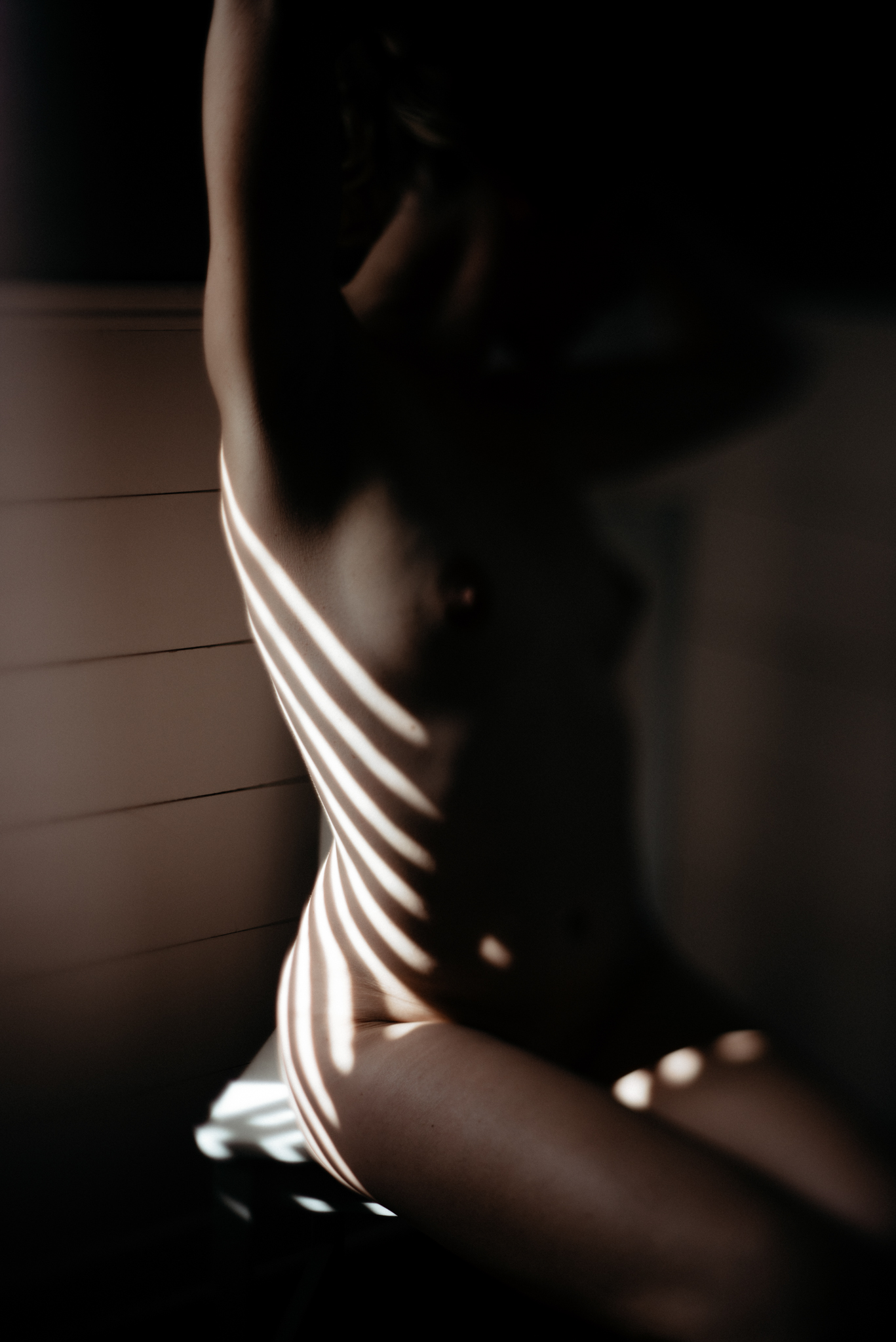 Rooney June Productions - Lubbock Boudoir-window light-moody-beautiful-Austin-Texas-home session