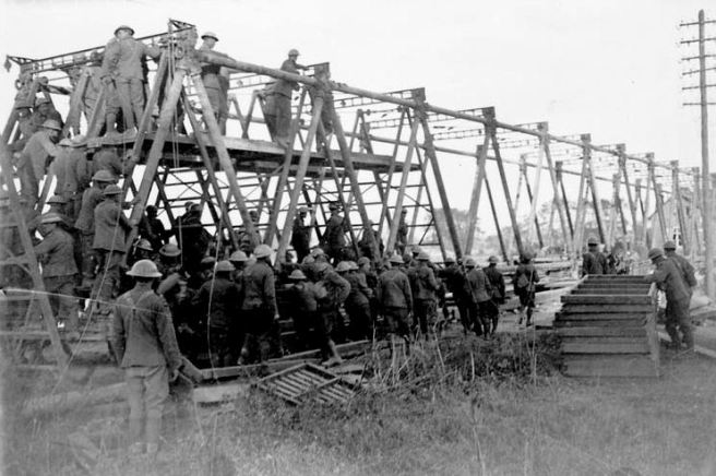 Canadian Railroad Construction Troops