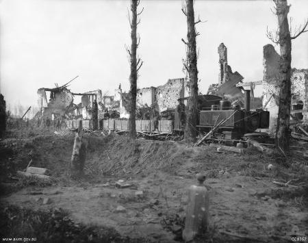 Steam Locomotive Ypres 1917