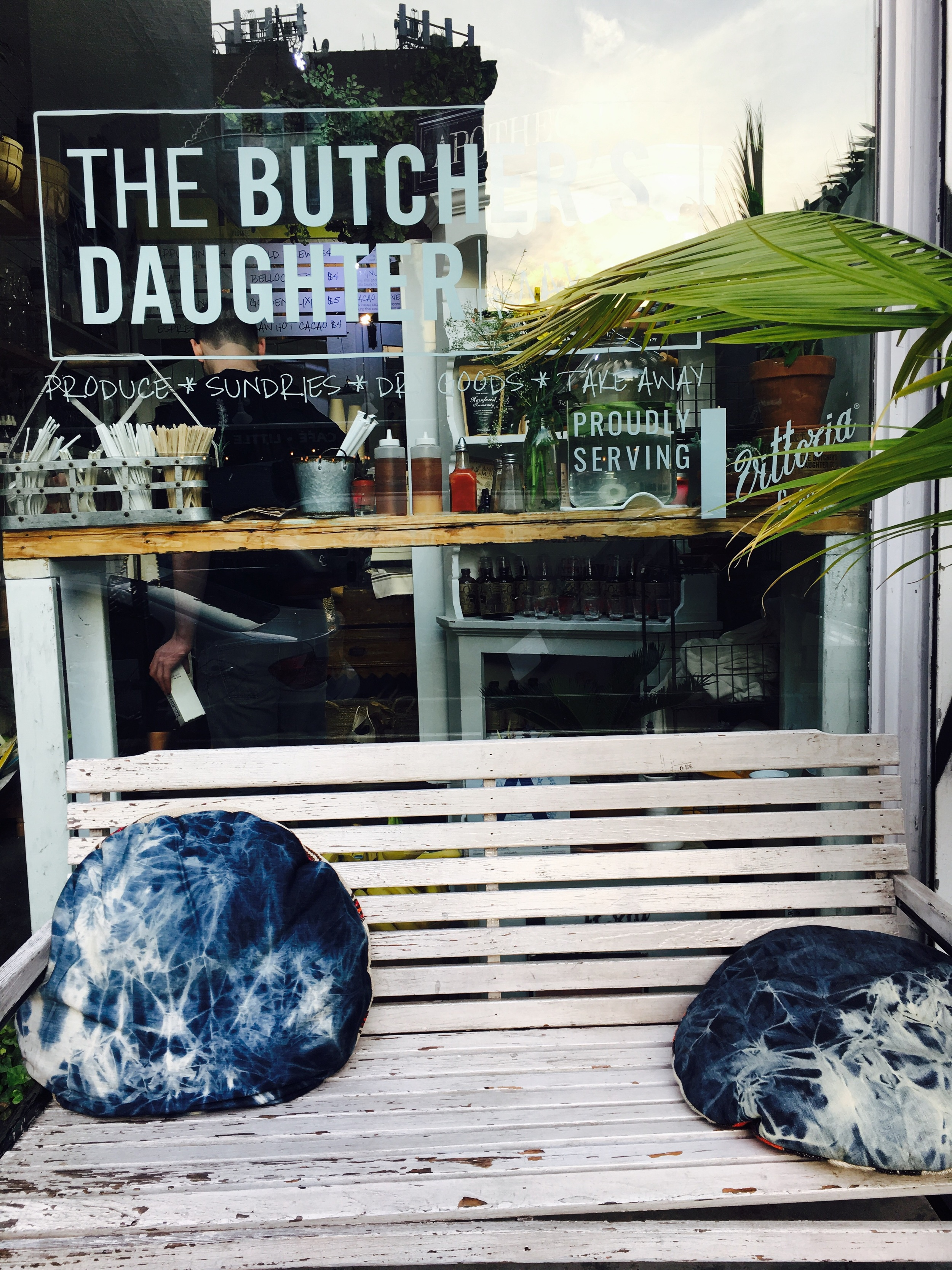 Great little shop with coffee, sundries and more serves the local hood.