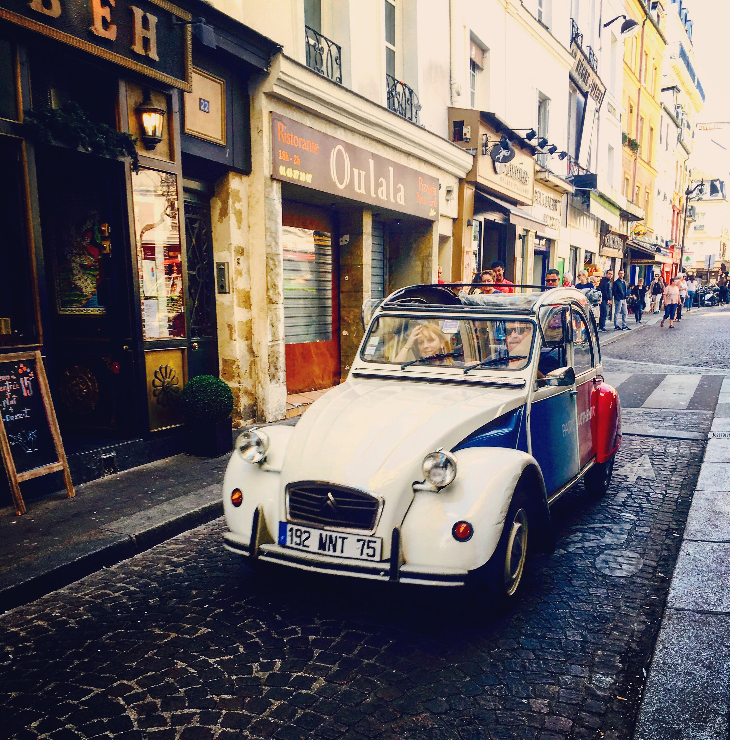 Sites to see like getting your Paris in this vintage bug. Rentable ~ yes