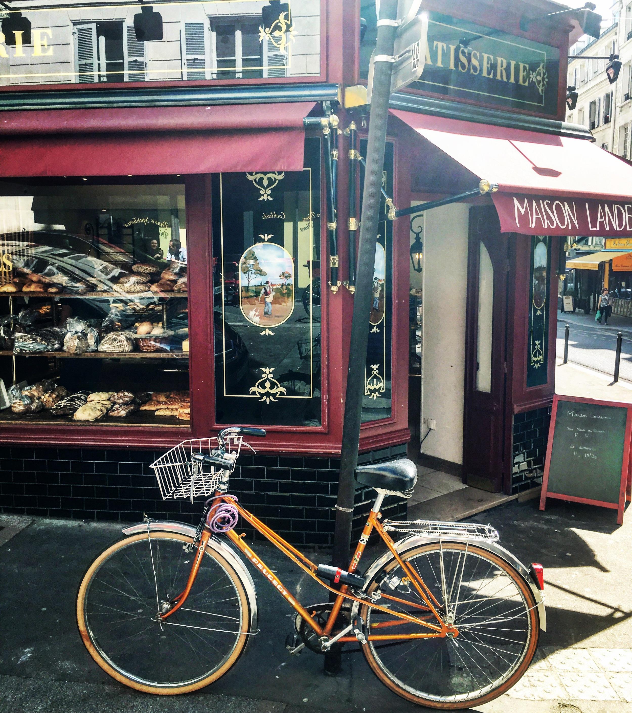 Peddle peddle| Paris has a great city bike share program.