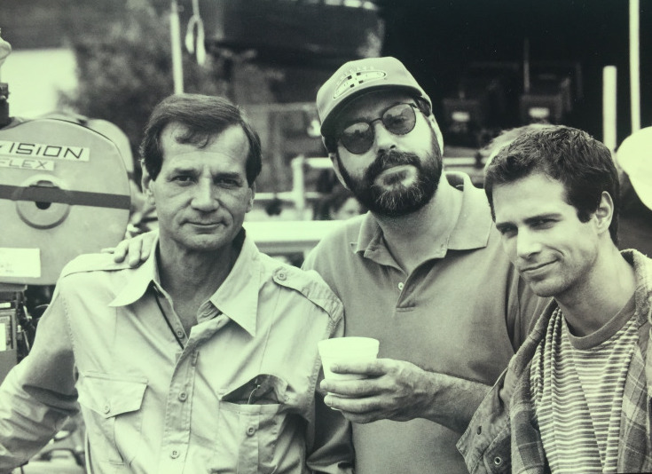 As a Producer, you get to pose at camera with your actor and the DP (my old pal Bobby Hudecek and Michael Manassari).