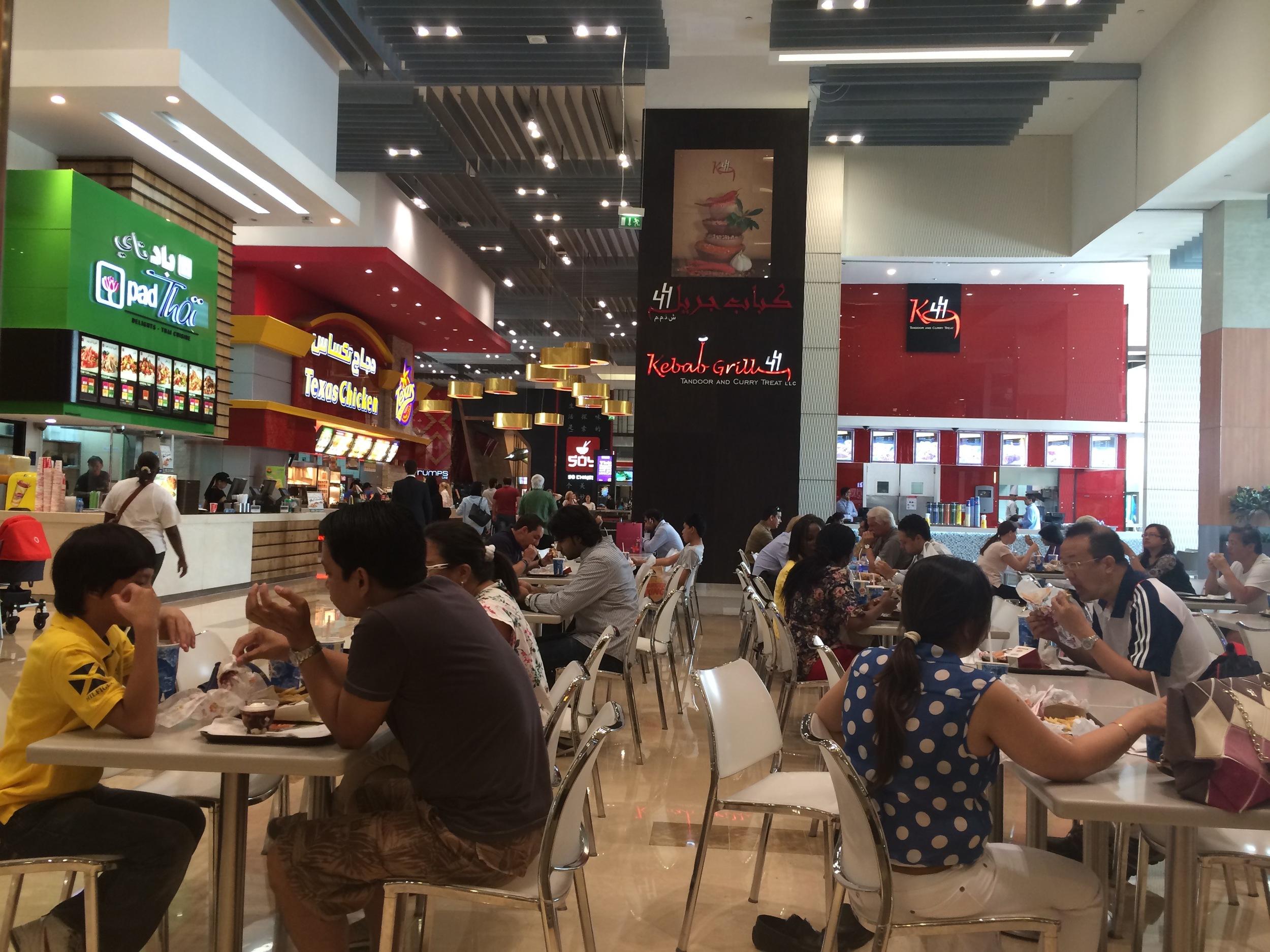 Dubai Mall Foodcourt