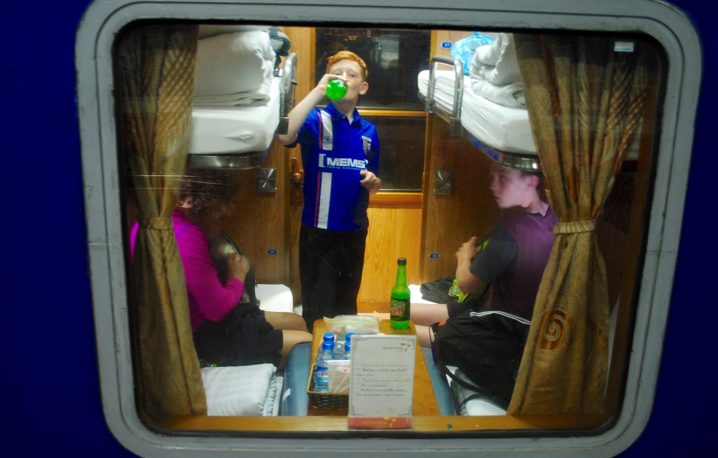 Night train to Sapa.