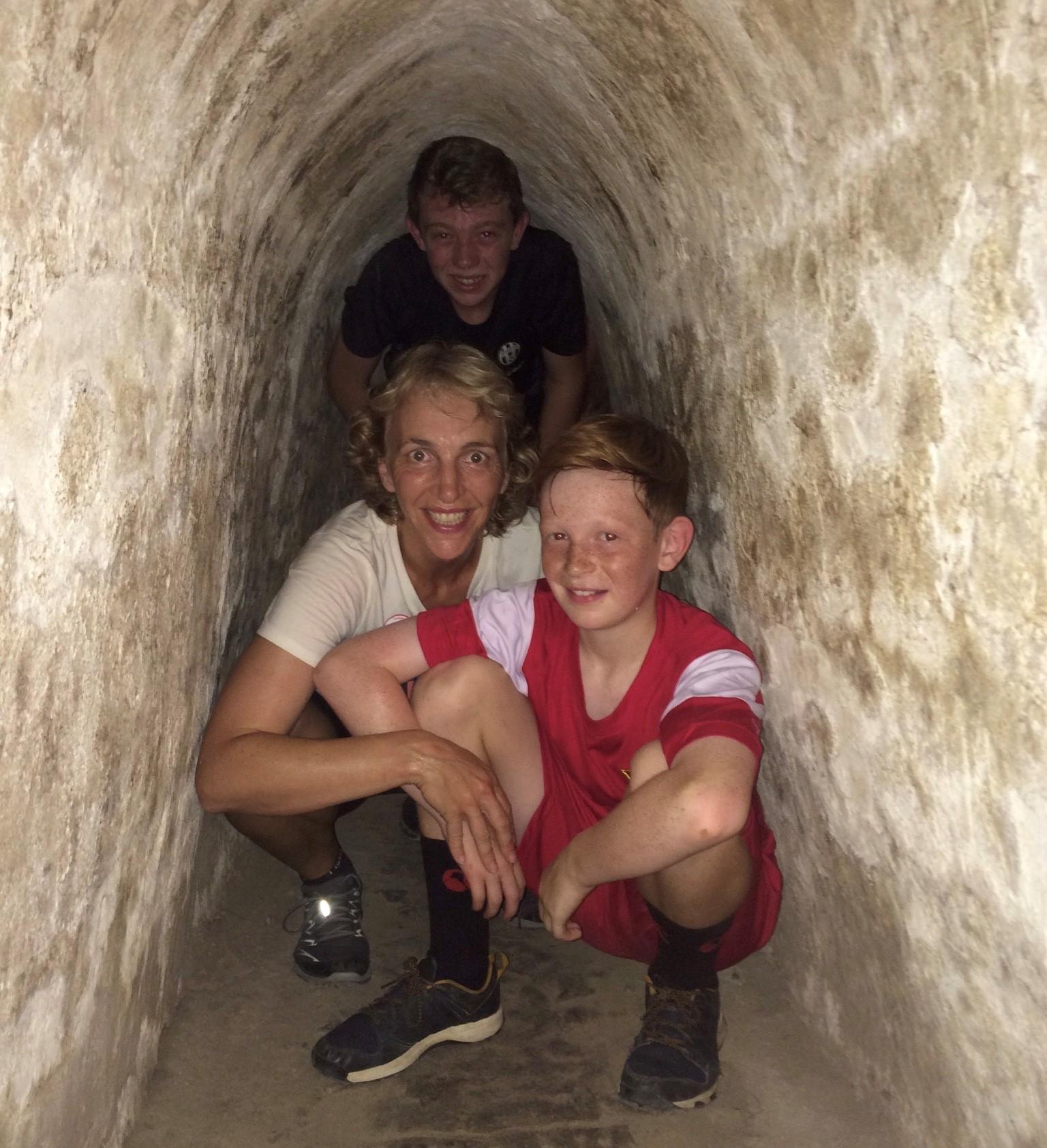 Cu Chi Tunnels.