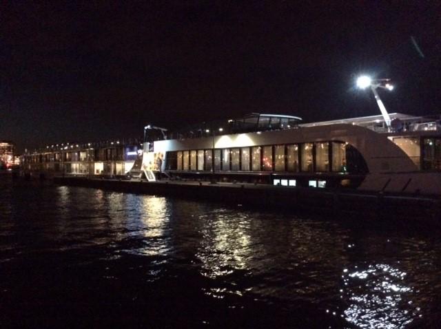 Amavenita docked in Amsterdam.