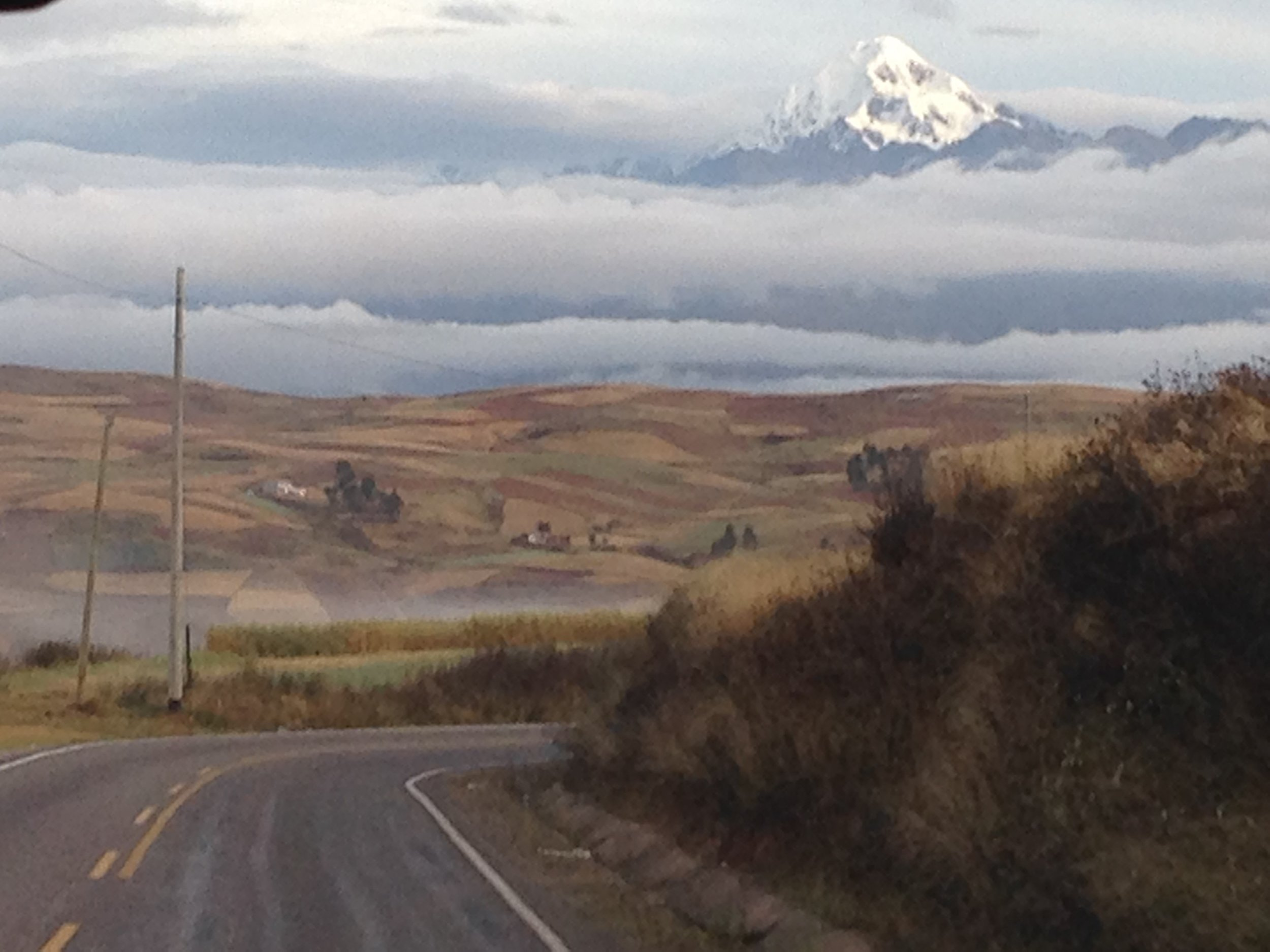 On the road to Sacred Valley