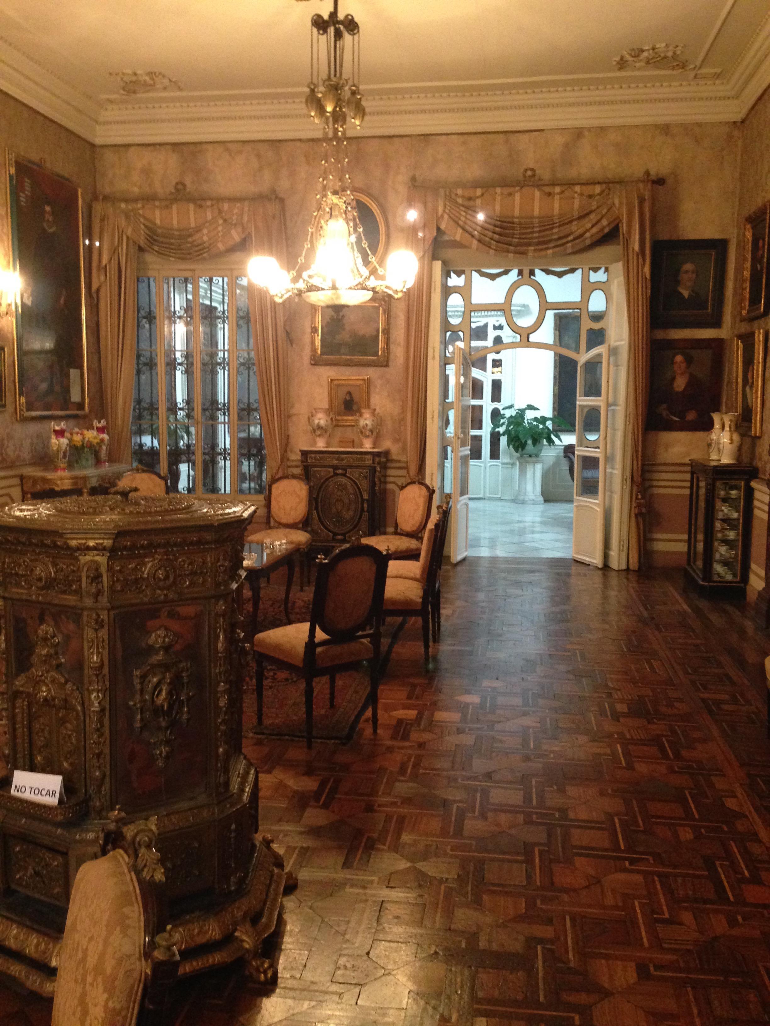 Living Room at Casa De Aliaga