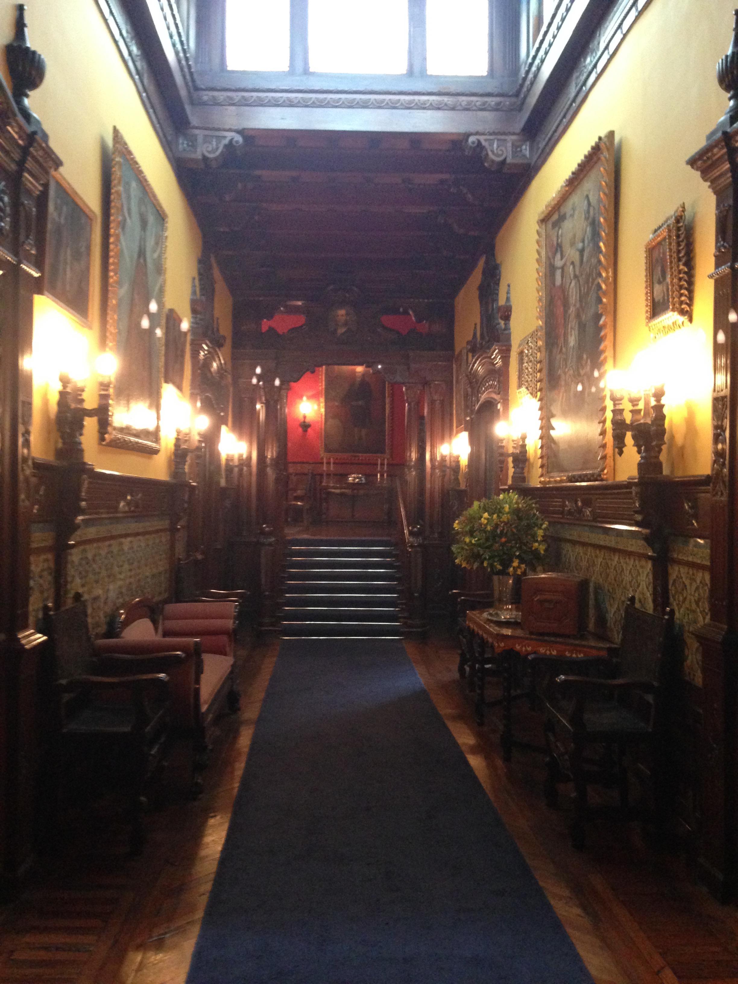 Main Hallway at Casa De Aliaga