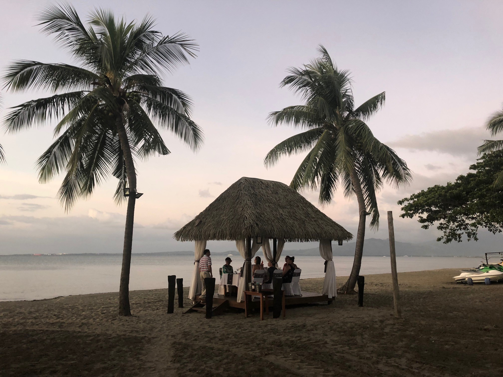 Our last night at the Sofitel Fiji