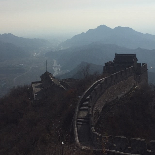 Memorable views on the Juyongguan section. Where are all the people?