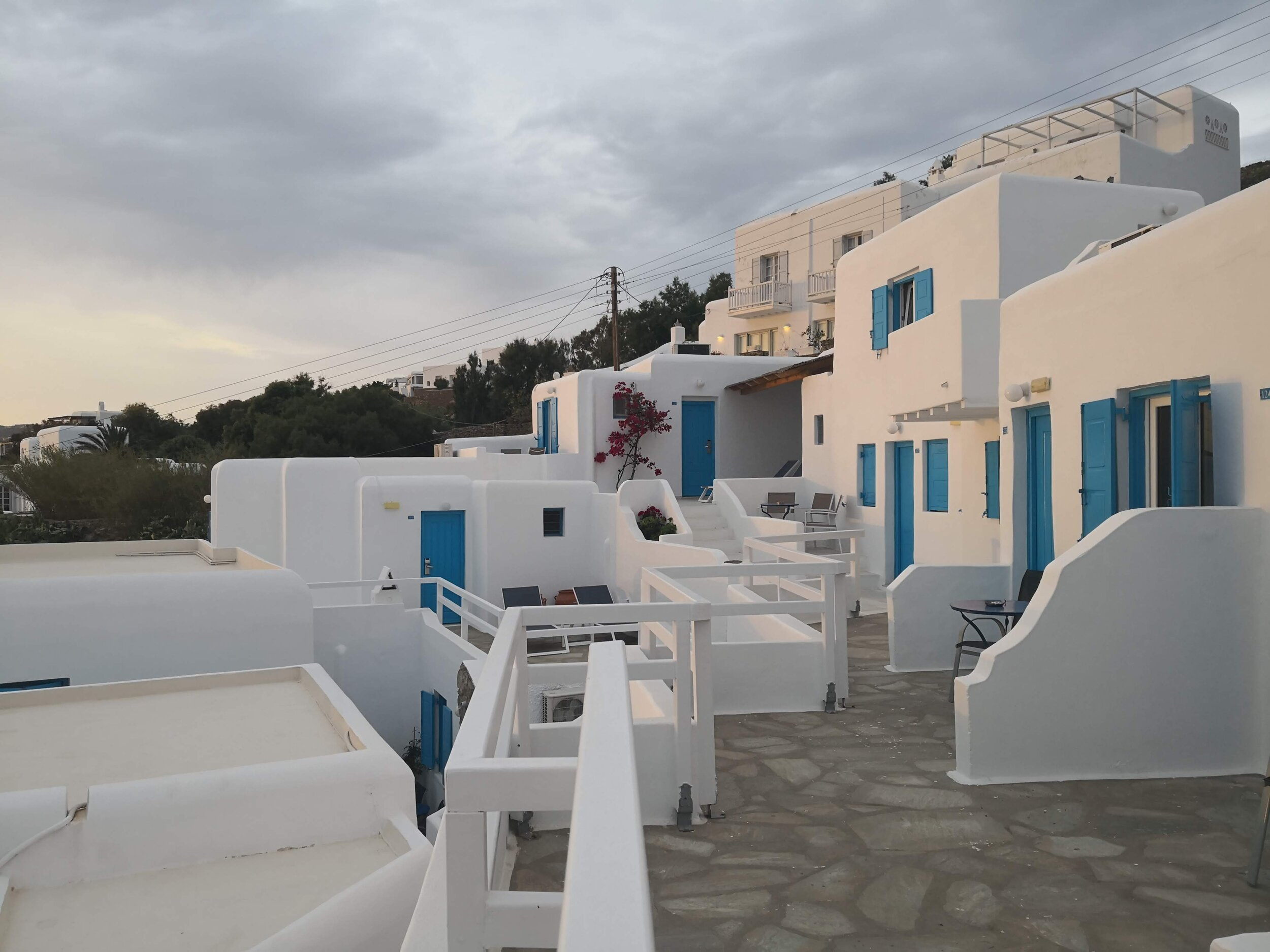Our hotel in Mykonos!
