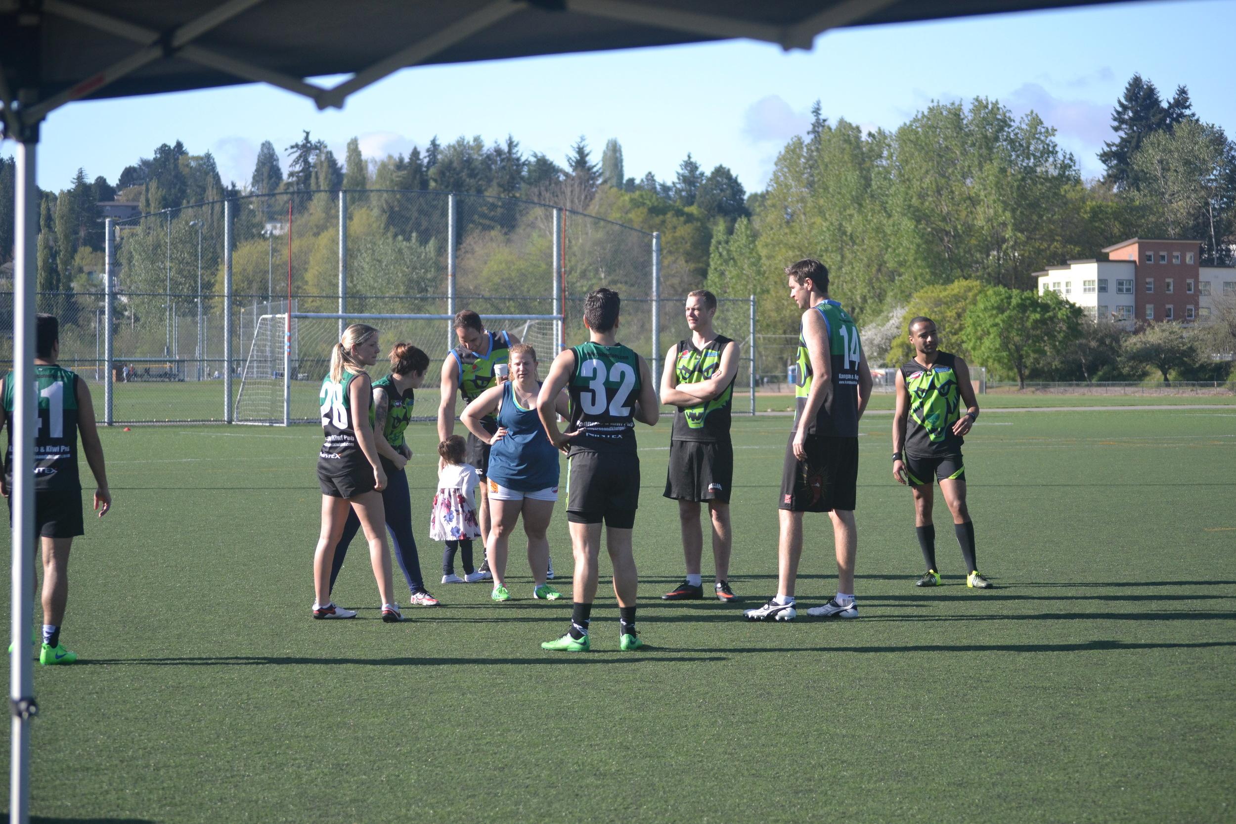 Pre-game deliberation