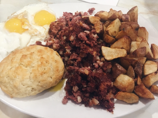 Corned Beef Hash, Silver Diner