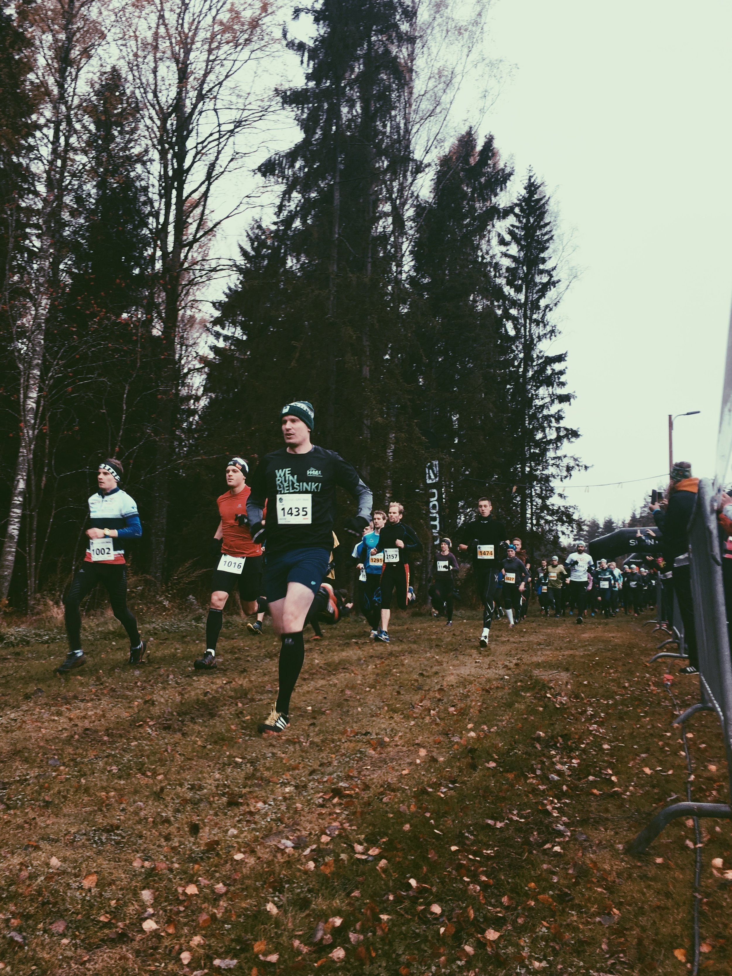 11km start (the fast group)