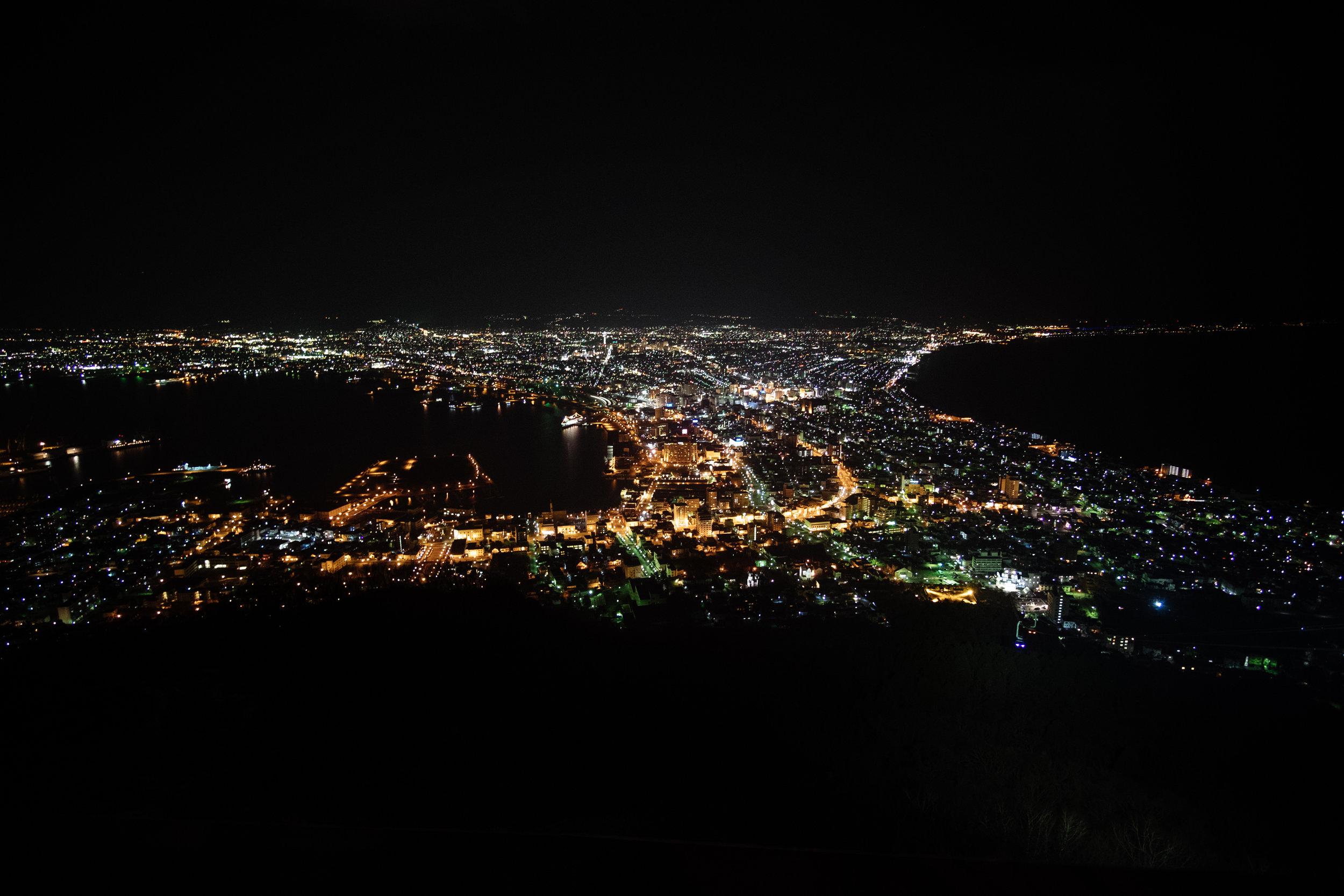 Hakodate by night