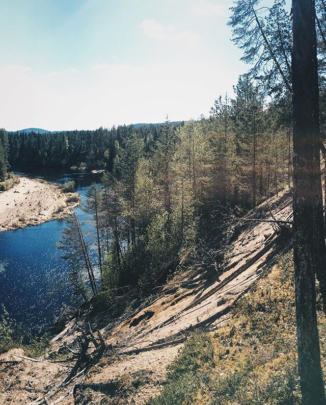 Attended my first ultra trail running competition (53k) in Kuusamo. Time was terrible because had to stop for photos on the way 😉  Panorama 1/3  ApproachNorth.com