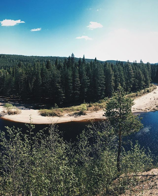 Attended my first ultra trail running competition (53k) in Kuusamo. Time was terrible because had to stop for photos on the way 😉  Panorama 2/3  ApproachNorth.com