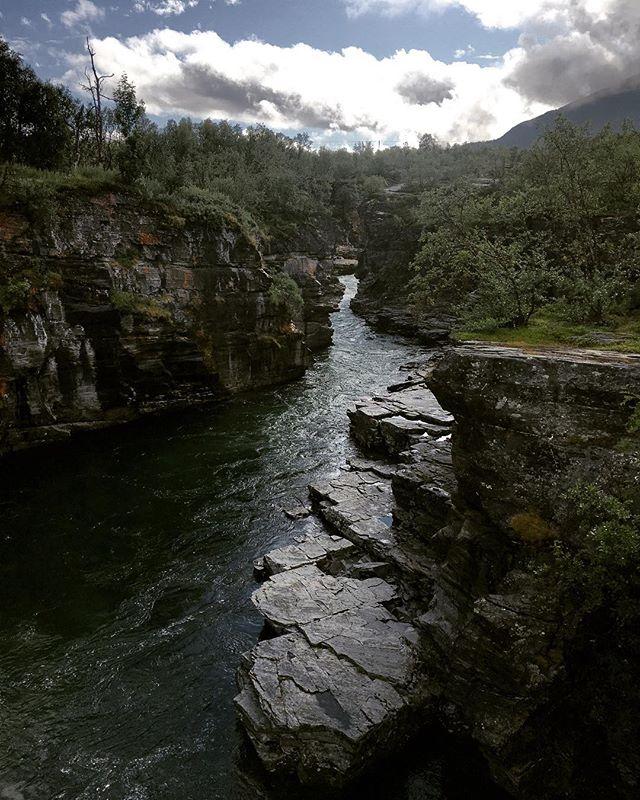 Canyon at Abisko 🏞