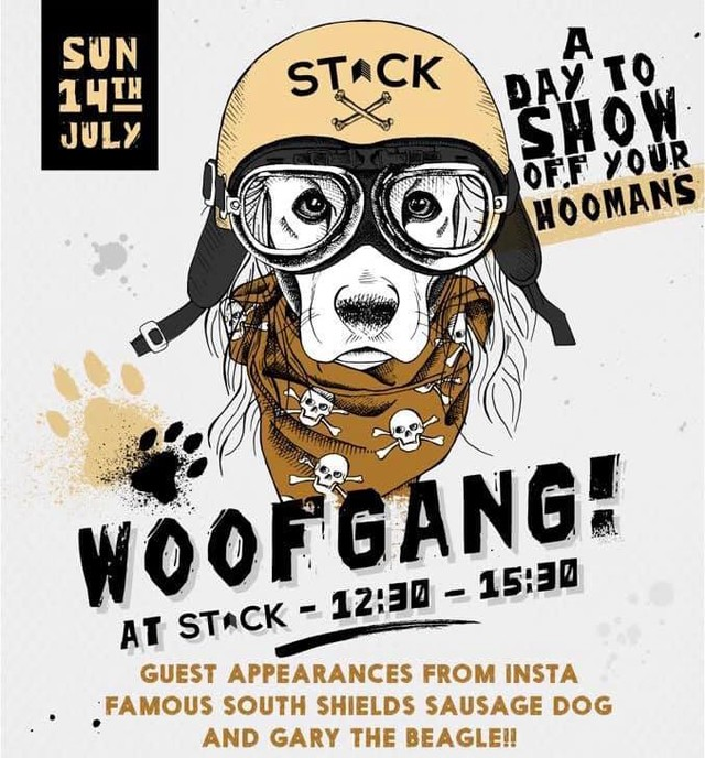 Following this weekend's successful event, it looks like #woofgang at @StackNewcastle is going to be a regular thing! #stacknewcastle #gillsfishandchips