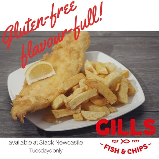 What day is it today?  It's Gills Gluten Free Tuesday at Stack Newcastle!! Pop along to grab your gluten-free, flavour-full goodies 😀 #glutenfree #stacknewcastle #gillsglutenfreetuesday