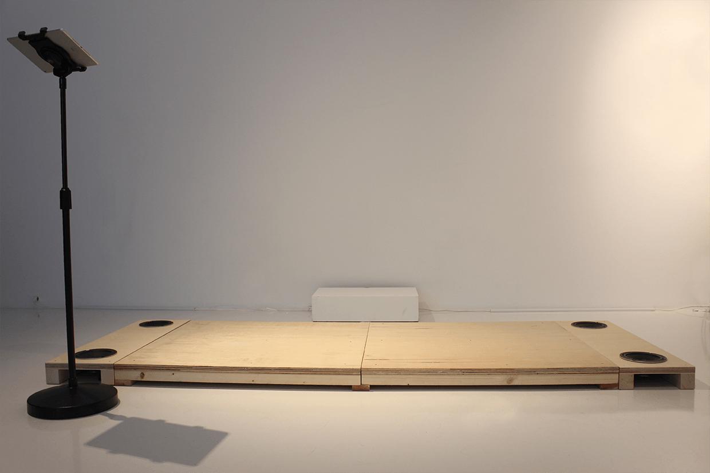 『SOUND OF TAP BOARD』 アーティスト:米澤 一平、佐藤 ねじ、水落 大、池澤 あやか、中農 稔