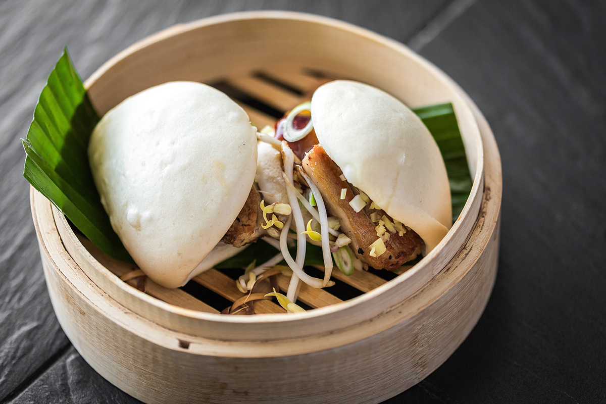 24 Hour Roasted Pork Belly Bao Bun