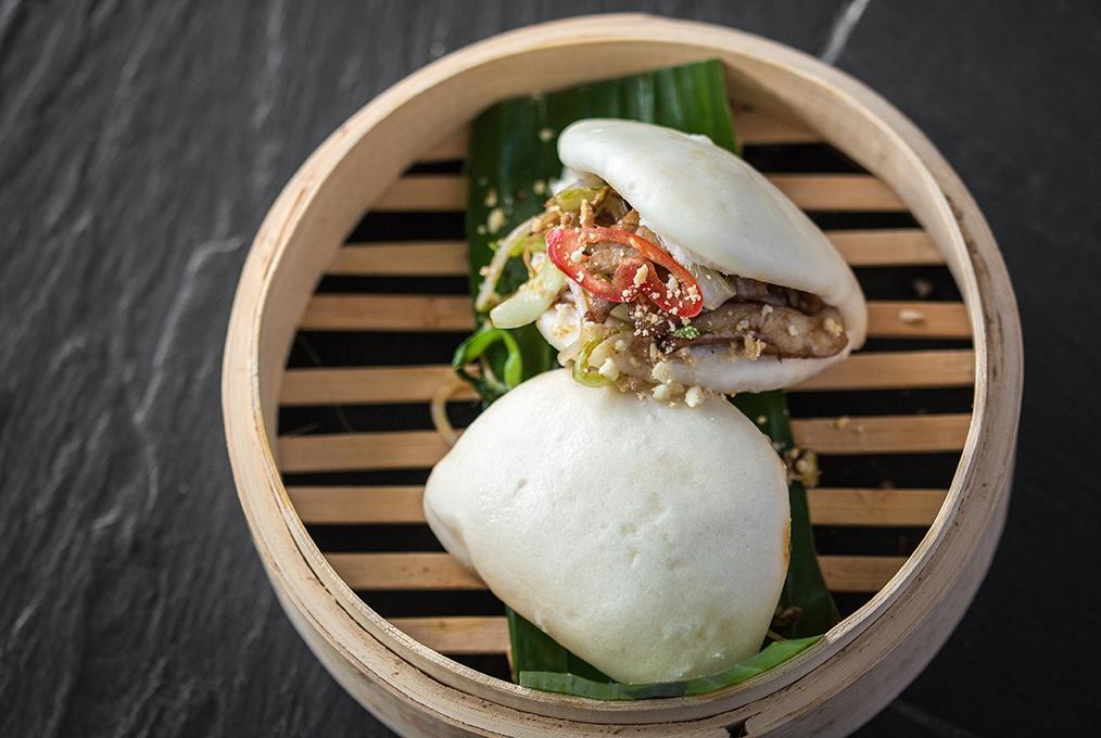 Chicken Gong Bao Bun