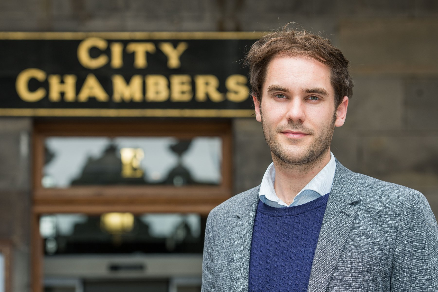 Adam McVey, Leader of City of Edinburgh Council