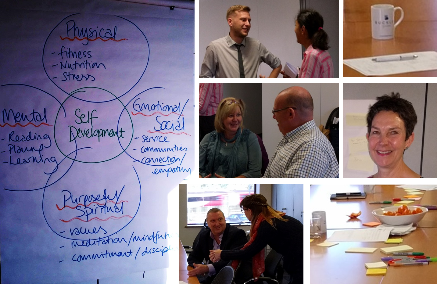 Photos from the Peterborough Learning Breakfast from 7th October 2017 where we discussed Stephen Covey's 7 Habits, and how they can help us with our personal effectiveness.