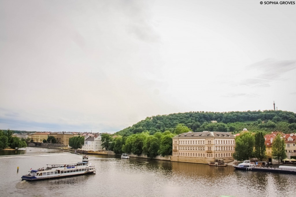 View over the River Vltava