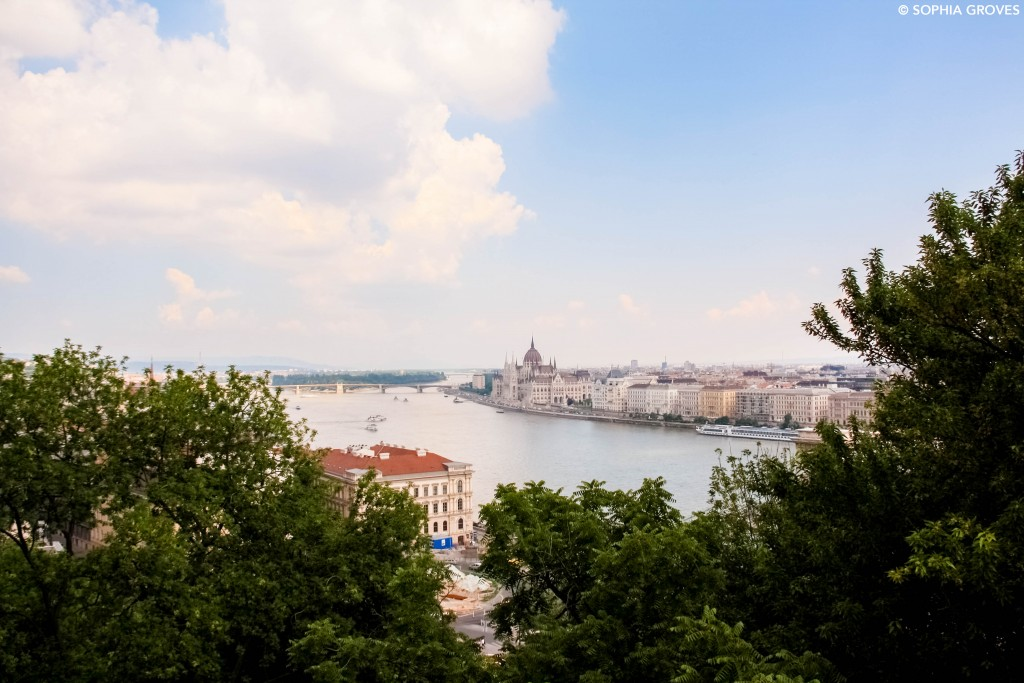 View over the River Danube