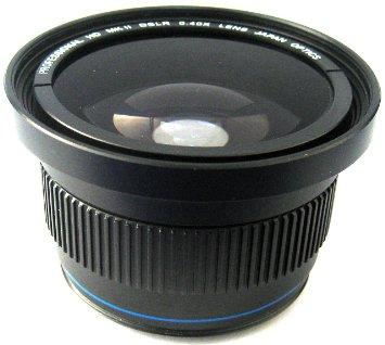 Zeikos 0.4x Fisheye Lens Adapter