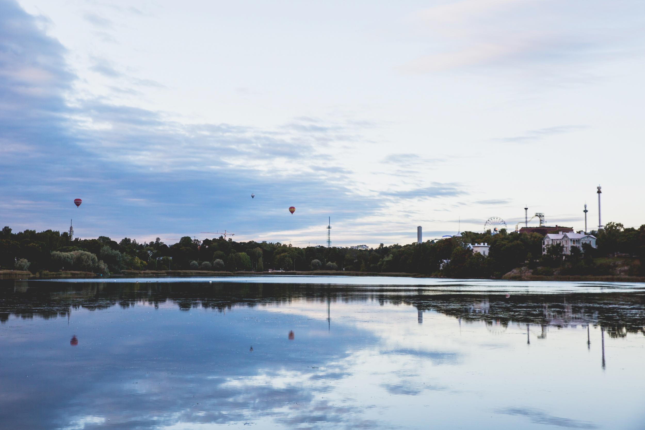 Töölönlahti Bay - Helsinki, Finland