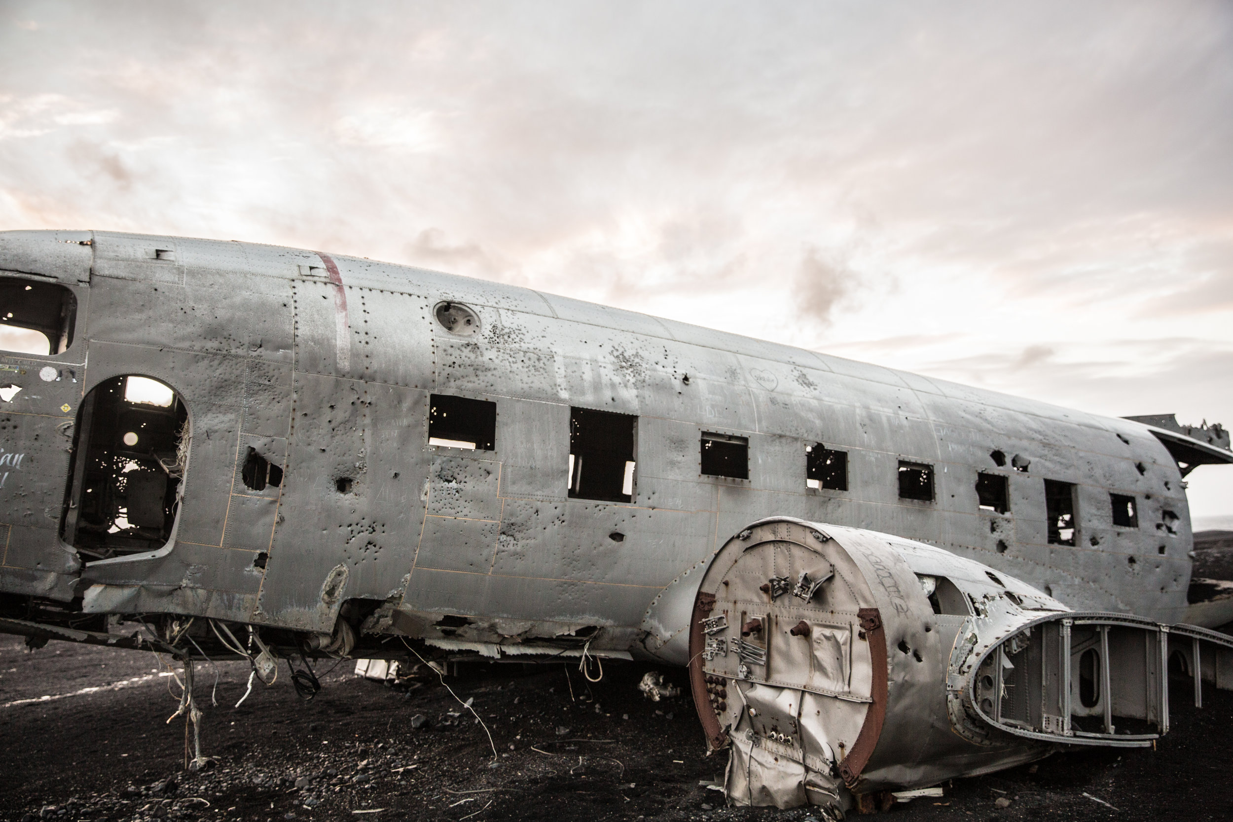 DC-3 Plane Wreckage - Sólheimasandur, Iceland