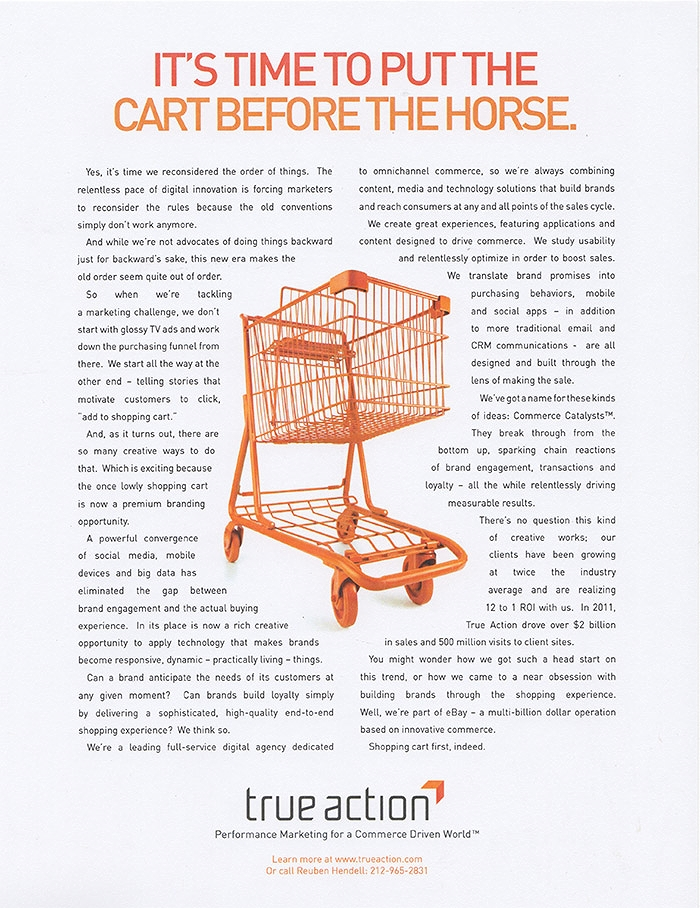 CartBeforeTheHorse_TrueAction