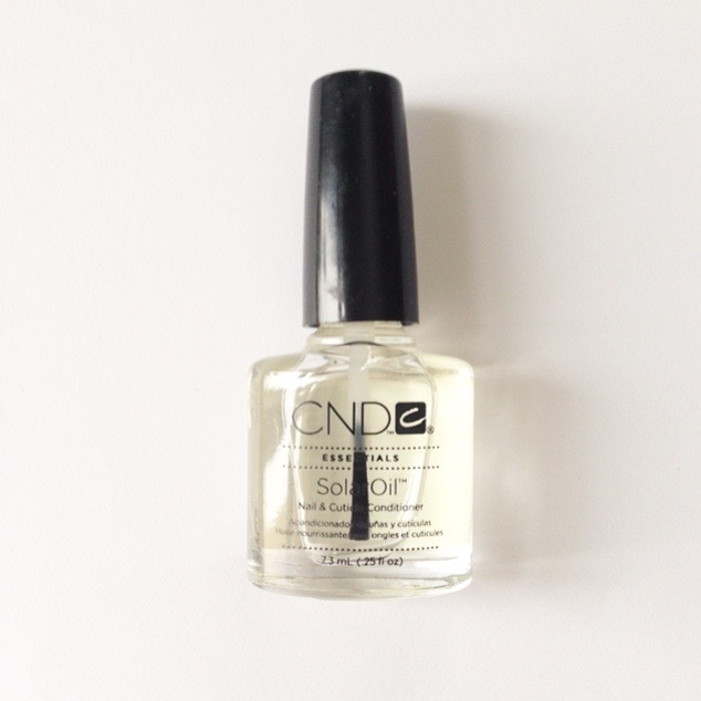 My favourites are Solar Oil by CND (smells like almond mmm) and Dadi Oil (Be warned: it's ridiculously luxurious and you'll want to smother your entire self in it, not just your nails)