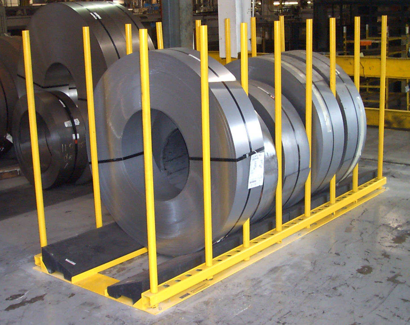 Stationary Slit Coil Rack