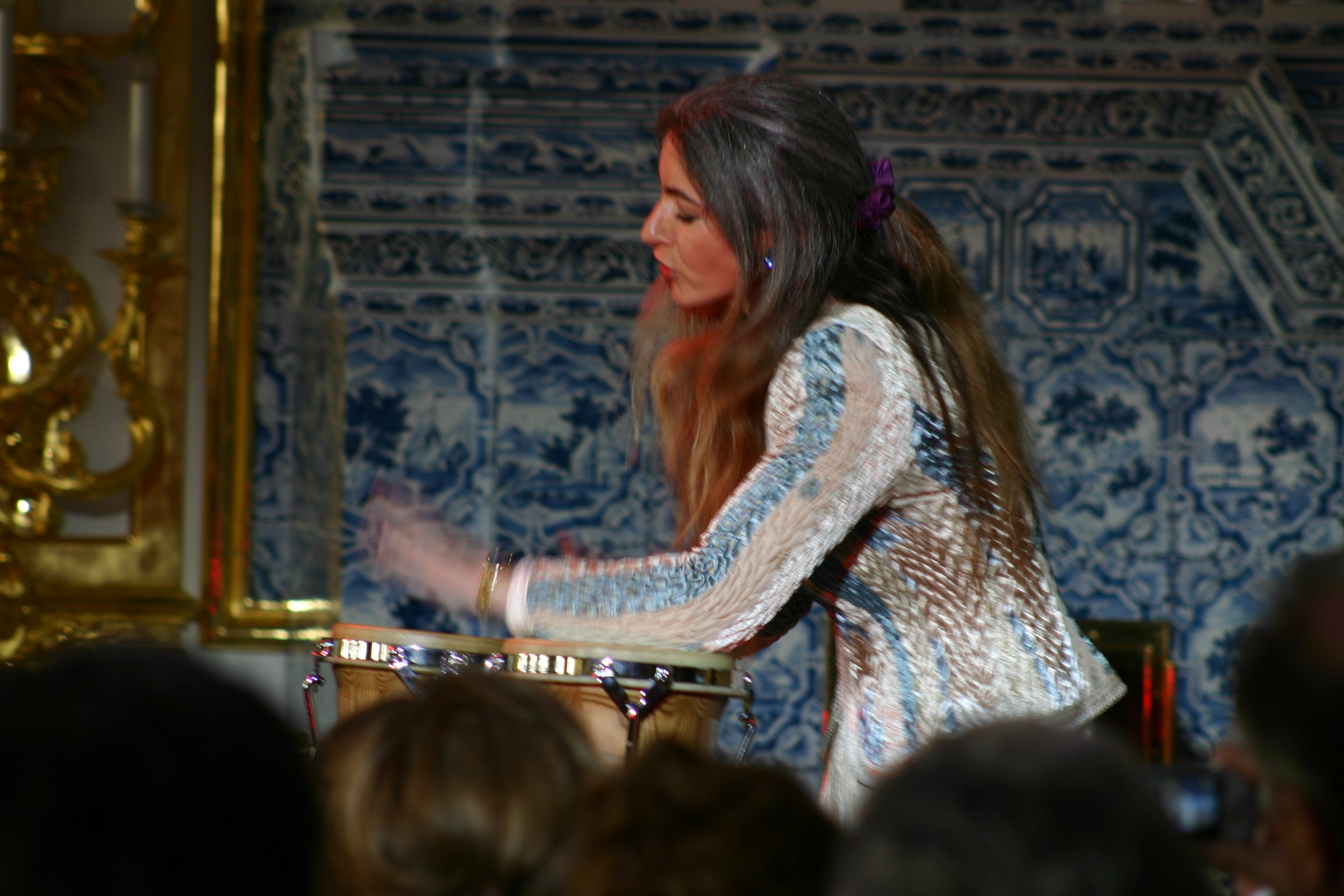 Dame Evelyn Glennie, percussionist