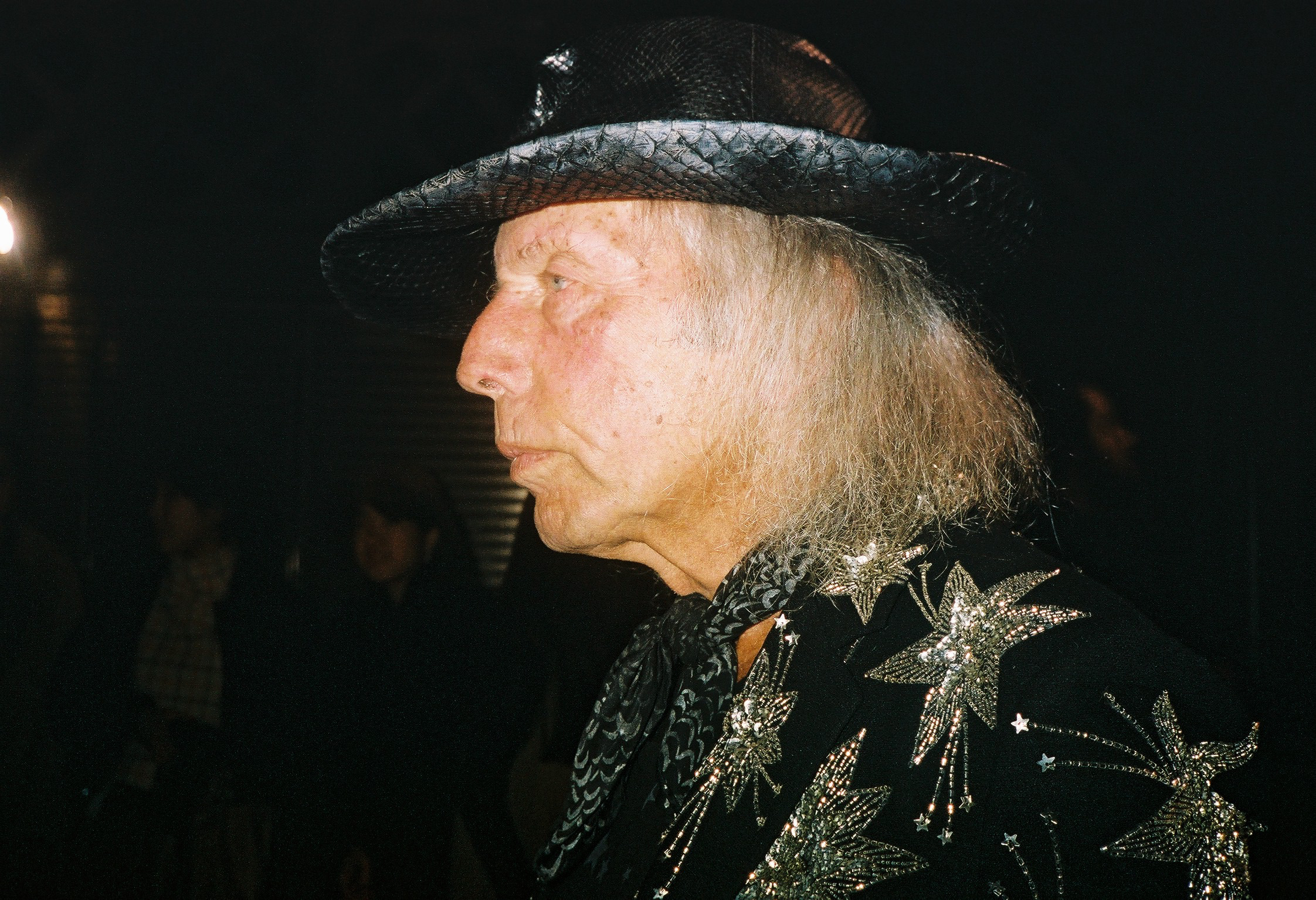 James Goldstein after YSL show.jpg