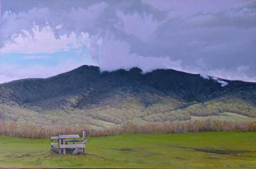 After the Storm   24 x 36   Oil on Canvas (sold)