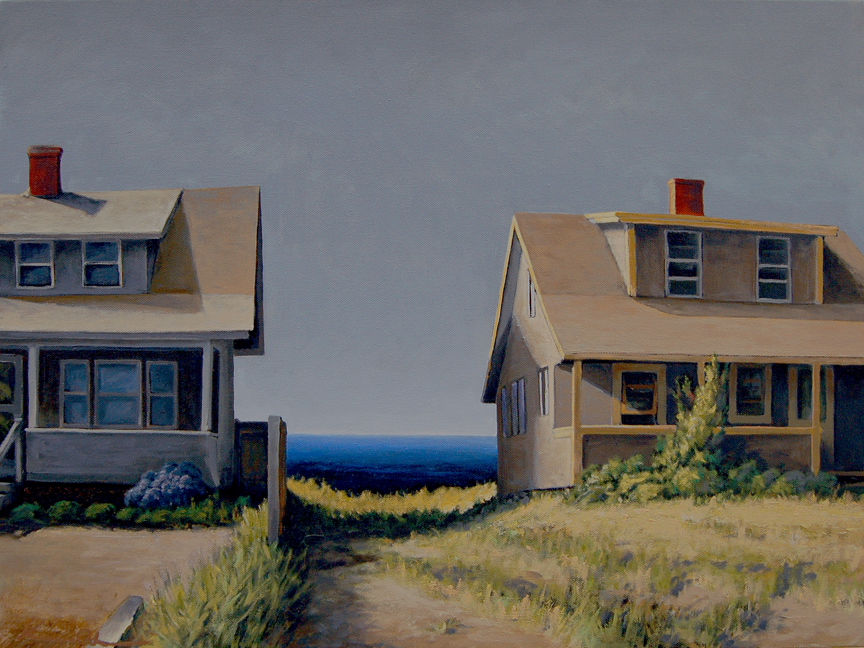 Beach Neighbors   18 x 24   Oil on Canvas