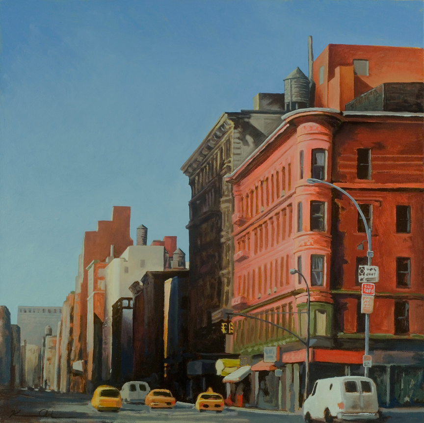 Upper West Side   20 x 20   Oil on Canvas (sold)
