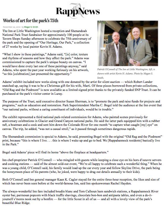 Rapp News, November 2010